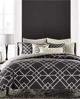 Hotel Collection CLOSEOUT! Modern Airbrush Geo Bedding Collection, Created for Macy's