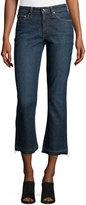 Derek Lam 10 Crosby Gia Mid-Rise Crop Flare-Leg Jeans