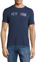 John Varvatos Star U.S.A. New York Graphic T-Shirt