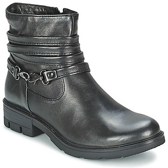 Mjus TRAVNIK women's Mid Boots in Black