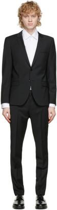 HUGO BOSS Black Wool Extra Slim Fit Arti Suit