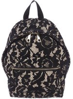 Sandro Floral Lace Backpack