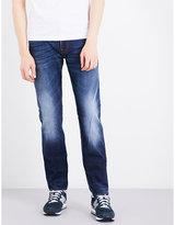 Stone Island 11oz Slim-fit Straight Jeans