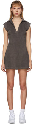 Gil Rodriguez SSENSE Exclusive Brown Terry Tennis Dress