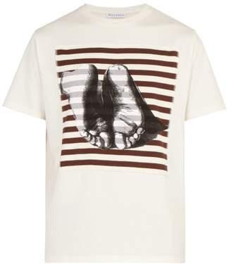 J.W.Anderson X Albrecht Durer-print Cotton T-shirt - Mens - Cream