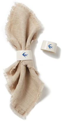Lusitano1143 Andorinha Napkin Rings Set Of 2