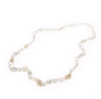 Moda In Pelle Pearlinecklace Silver Metal