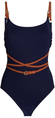 Gottex Belted Swimsuit