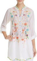 Johnny Was Nikki Embroidered Tunic