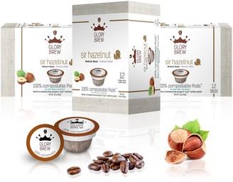Glorybrew Sir Hazelnut 60-Count Compostable Coffee Pods