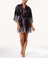 Thalia Sodi Border-Print Wrap Robe, Created for Macy's
