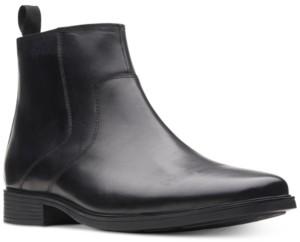 Clarks Men's Tilden Zip Waterproof Leather Boots, Created for Macy's Men's Shoes