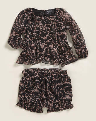 Bardot Infant Girls) Two-Piece Stella Floral Blouse & Shorts Set