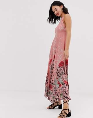 Free People Embrace It floral print maxi dress-Pink