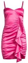 LIKELY Monaco Ruffle Drape Dress