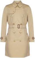 Burberry Kensington Heritage Mid-Length Trench Coat