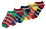 George 5 Pack Trainer Liner Socks