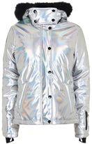 Topshop sno **holographic ski jacket