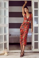 Ecote Saraphina Cutout Button-Front Jumpsuit