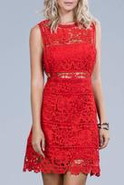 Ark & Co Red Lace Dress