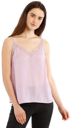 Basque Lace Insert Cami