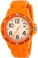 L by ELLE Women's LE50007P07 Plastic Color Bezel Watch