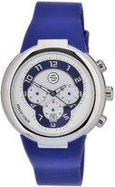 Philip Stein Teslar Men's 32-AN-RN Quartz Stainless Steel Blue Dial Watch