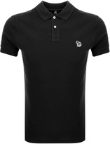 PS By Paul Smith Slim Polo T Shirt Black