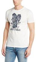 Schott NYC Men's TSFLAG2 Crew Neck Short Sleeve Sports Shirt