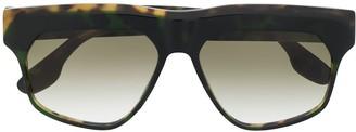 Victoria Beckham oversized frame sunglasses