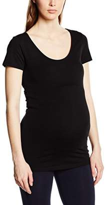 Noppies Women's Tee Round Neck Ss Amsterdam Maternity T - Shirt,10 (Size:)