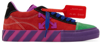 Off-White Multicolor Arrows Low Vulcanized Sneakers
