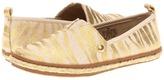 MICHAEL Michael Kors Kids - Meg (Little Kid/Big Kid) (Gold Metallic) - Footwear