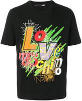 Love Moschino graphic logo T-shirt