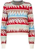 Missoni Cropped Striped Sweater