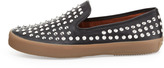 Rebecca Minkoff Kory Studded Leather Sneaker, Black