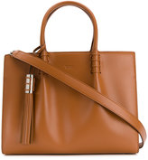 Tod's tassel detail tote - women - Leather - One Size