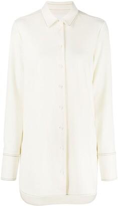 Jil Sander Long-Line Shirt