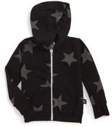 Nununu Infant Star Print Zip Hoodie