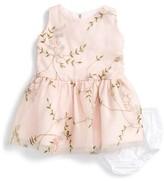 Isabel Garreton Infant Girl's Festival Embroidered Sleeveless Dress