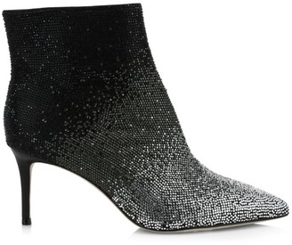 Alice + Olivia Maesen Ombre Embellished Ankle Boots