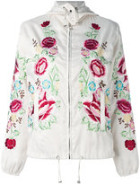 P.A.R.O.S.H. floral embroidered bomber jacket - women - Polyester - XS