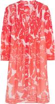 Diane von Furstenberg Layla printed silk-chiffon dress