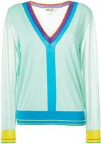 Diane von Furstenberg colour-block jumper - women - Cotton/Nylon - XS
