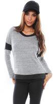 Singer22 Stateside Contrast Sweatshirt in Contrast Heather