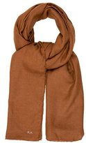 Reed Krakoff Brown Cashmere Scarf