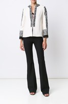 Derek Lam Embroidered Short Coat