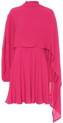 Valentino silk-crepe de chine dress