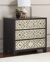 Hooker Furniture Justine Fretwork Three-Drawer Chest