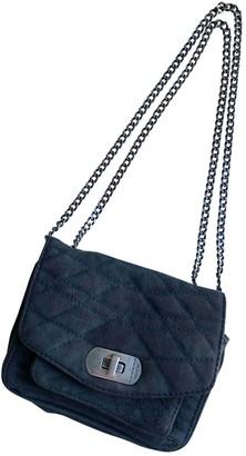 Zadig & Voltaire Navy Suede Handbags